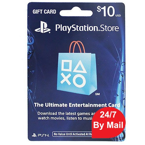 SONY Playstation Network Card 10$ (Online Game Card) -PSN US Account