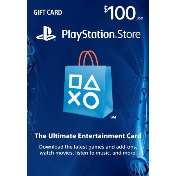 SONY Playstation Network Card 100$ (Online Game Card) - PSN US Account