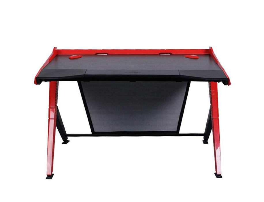 DXRacer Gaming Desk - Black/Red