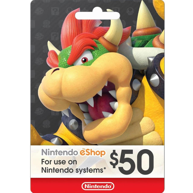 Nintendo eShop Card 50$ - US Region