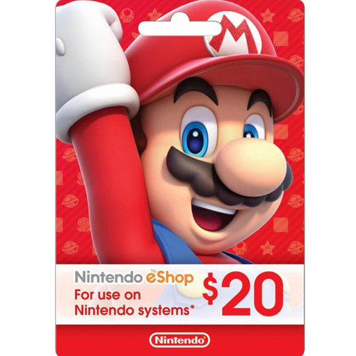 Nintendo eShop Card 20$ - US Region