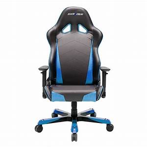 DXRACER Tank Series Gaming Chair - Black/Blue