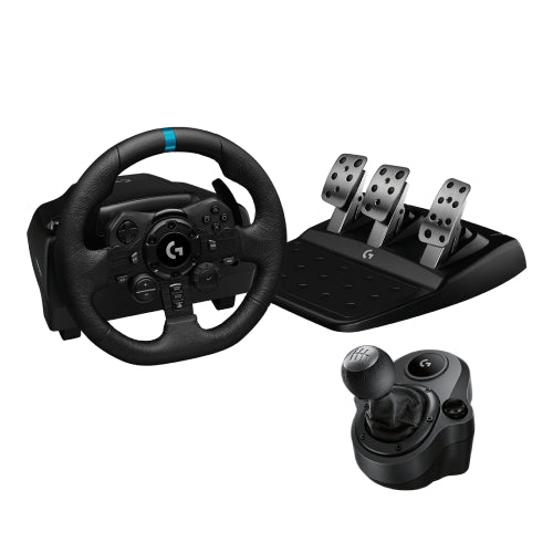 Logitech G923 Racing Wheel and Pedals for Xbox One and PC- USB