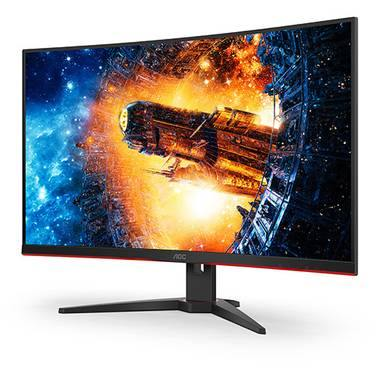 "AOC 32"" Inches VA Curved gaming Monitor Slim & Sleek 1MS - 165Hz Resolution 1920x1080"