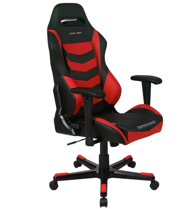 DXRacer Iron Series Gaming Chair - Black/Red