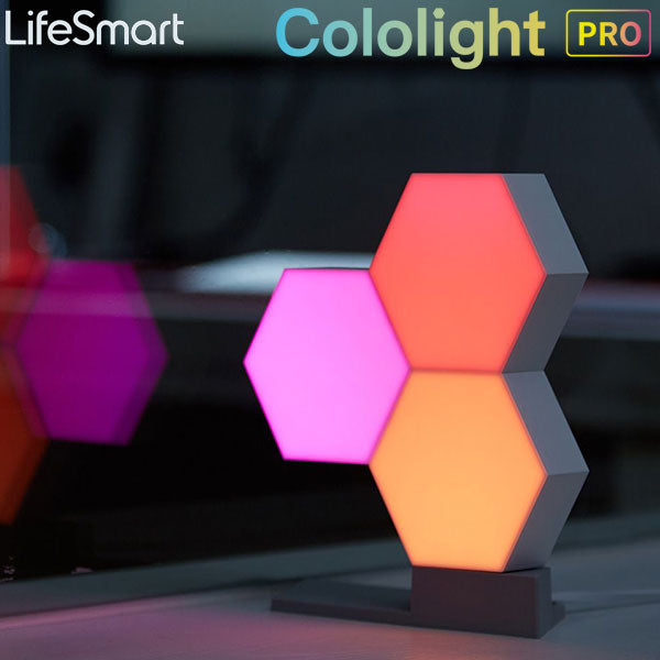 Lifesmart Cololight Pro - 3 Pack Starter Kit with Stand