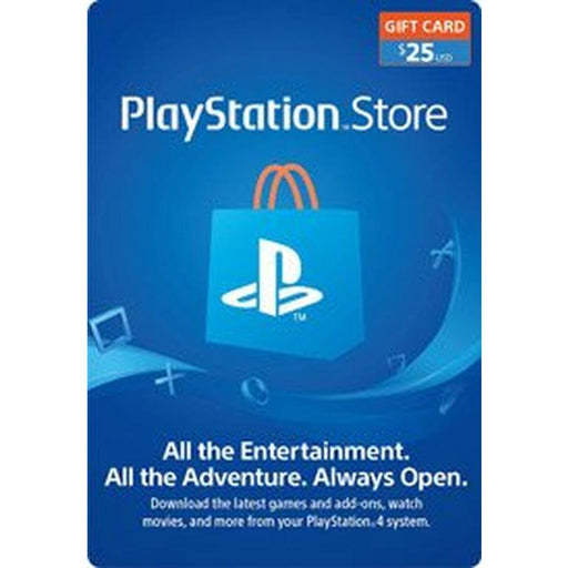 SONY Playstation Network Card 25$ - PSN US Account -Delivery by Email