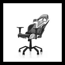 DXRACER Valkyrie Series Gaming Chair - Black/White