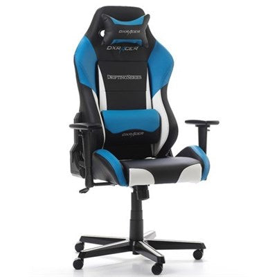 DXRacer Drifting Series Gaming Chair - Black/White/Blue