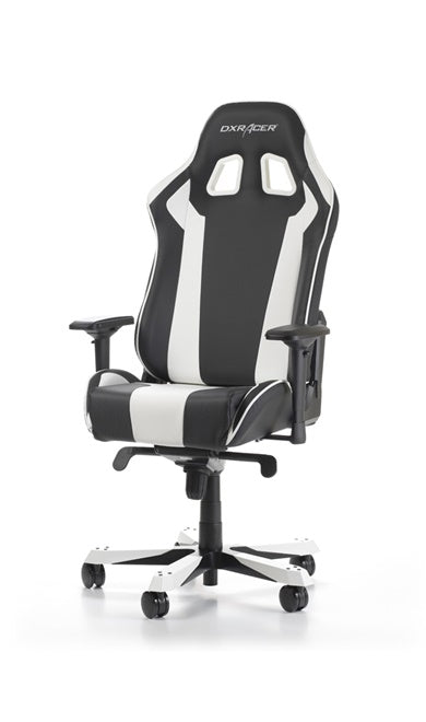 Magnificent Dxracer King Series Gaming Chair Black White Machost Co Dining Chair Design Ideas Machostcouk