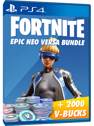 Fortnite Versa Pack + 2000 V Bucks - USA Account