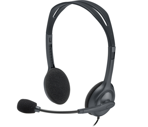 Logitech H111 Stereo Headset - Single Jack