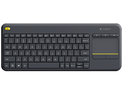 Logitech Keyboard K400 Plus WithTouchpad Arabic