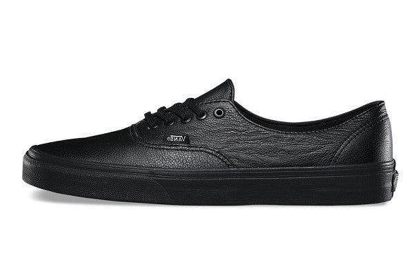 Vans Premium Leather Authentic Decon - Black/Black