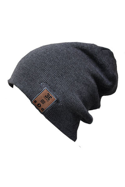 BE Headwear 24/7 Bluetooth Audio beanie - Charcoal