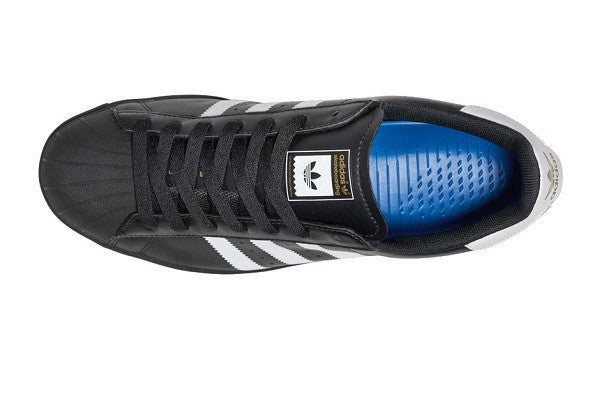 save off 9531d a45f3 Adidas originals Superstar Vulc Adv in Black for Men Lyst