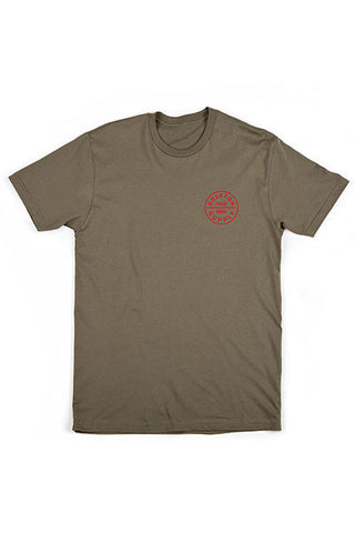 Brixton Oath S/S Stnd Tee - Olive