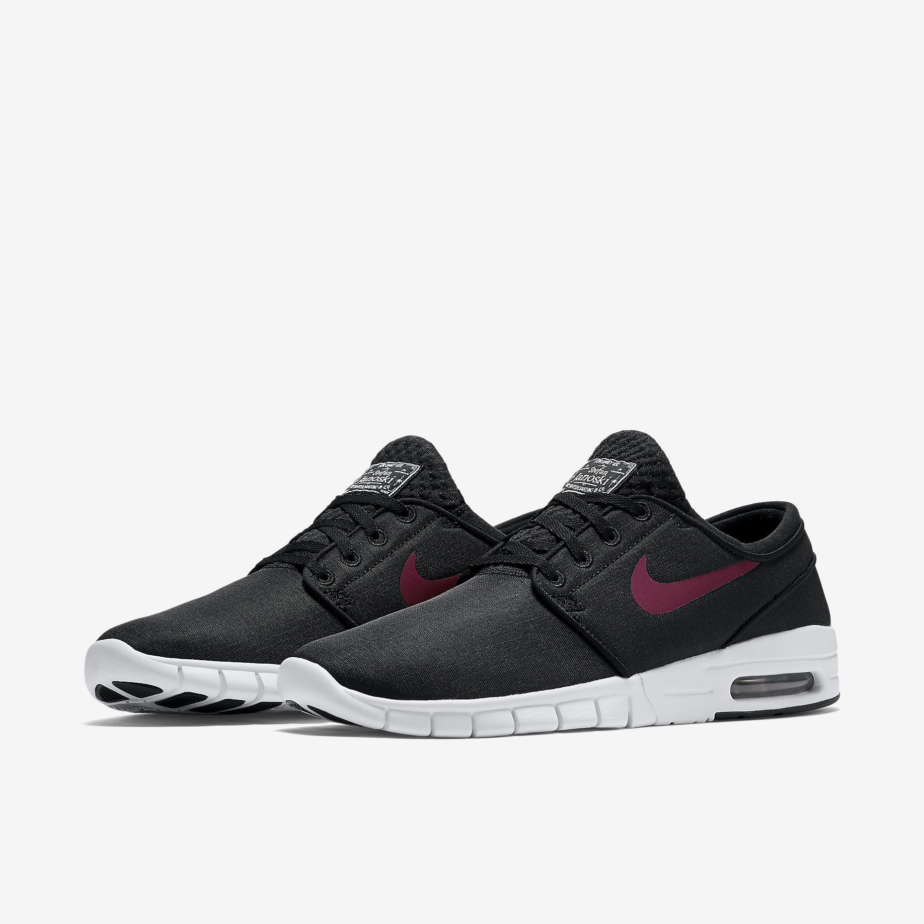 Nike SB Stefan Janoski MAX - Black/Team Red - White
