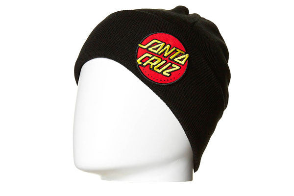Santa Cruz Classic Patch Beanie - Black