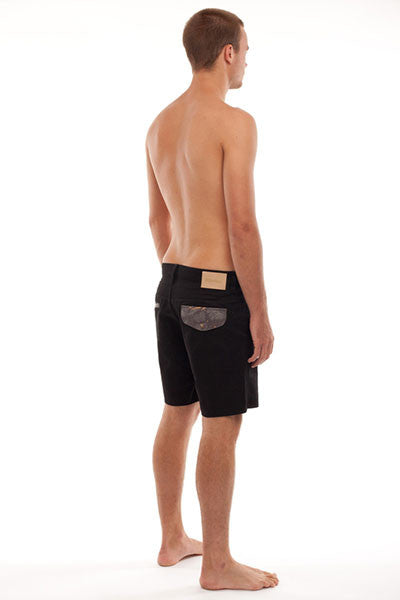 Rhythm Banksia Walk Short - Rock Black