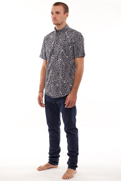 Rhythm Appleyard S/S Shirt - Dark Navy