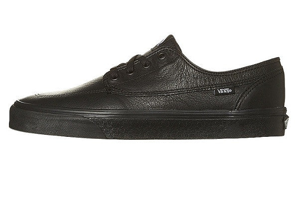 Vans Brigata - Black Leather