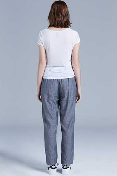 AS Colour Maddison Pant - Steel