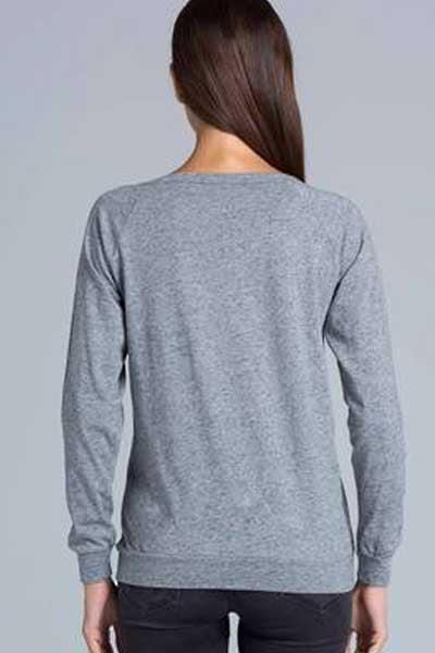 AS Colour Slouch Crew - Grey Marl