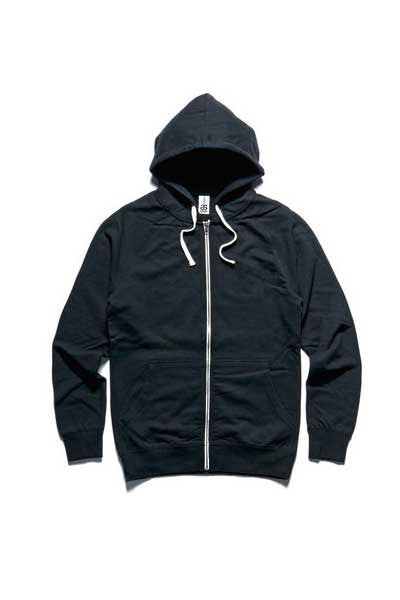 AS Colour Traction Zip Hood - Black