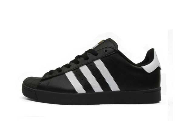 Adidas Superstar Vulc Adv - Black/White