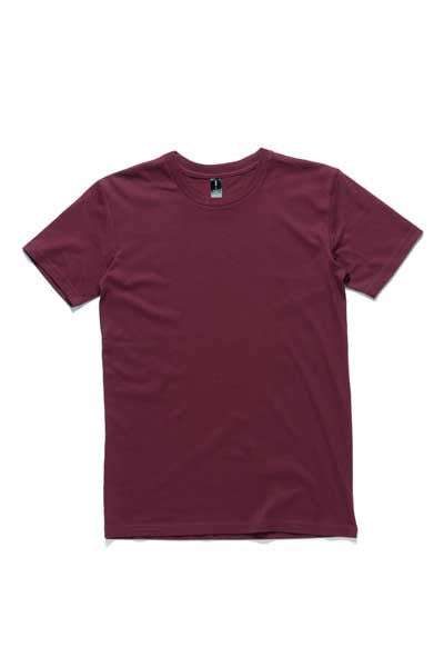 AS Colour Staple Tee - Burgundy