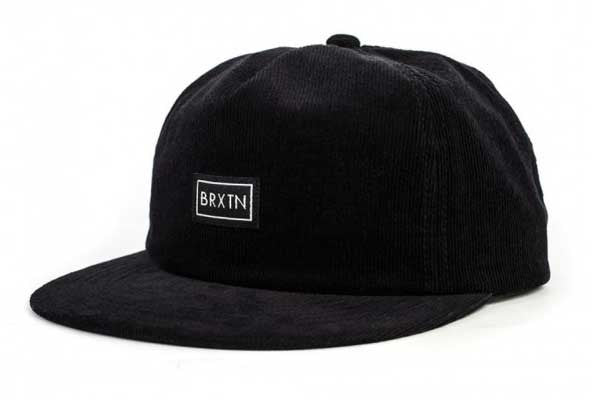 Brixton Lee Cap - Black