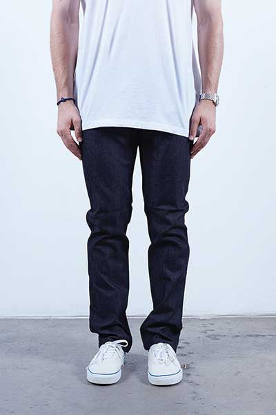Rustic Dime Slim Fit - Midnight Black