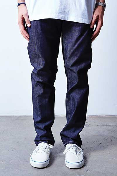 Rustic Dime Slim Fit - Raw Indigo