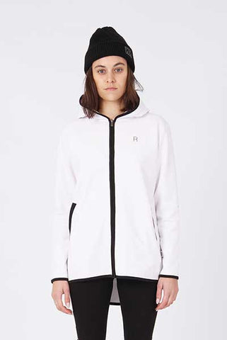 Rpm Sunday Zip Through - White
