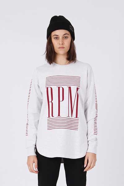 Rpm Vogue 2.0 Crew - Grey Marl
