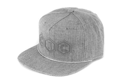 Crooks Mifune Strap Back - Grey