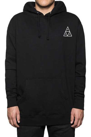 HUF Triple Triangle Pullover Fleece - Black