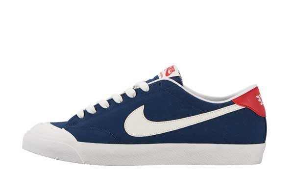 Nike SB Air Zoom All Court CK - Midnight Navy/White