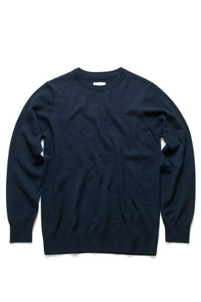AS Colour Simple Knit - Navy
