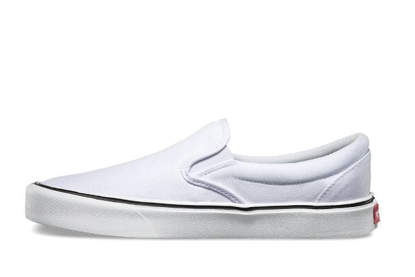 Vans Slip on Lite + Canvas - True White