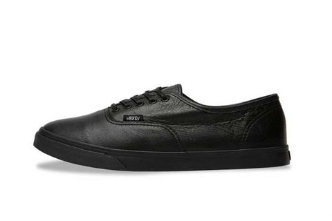 Vans LoPro Italian Leather - Black