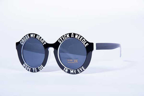 Blank Collective Needle Sunnies - Black