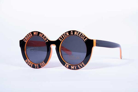 Blank Collective Needle Sunnies - Orange