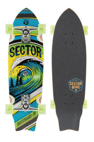 Sector 9 Wave Park Longboard - Green