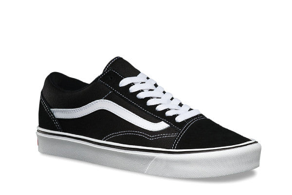 Vans Old Skool Suede/Canvas Lite + - Black/White