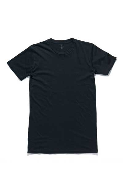 AS Colour Tall Tee - Navy