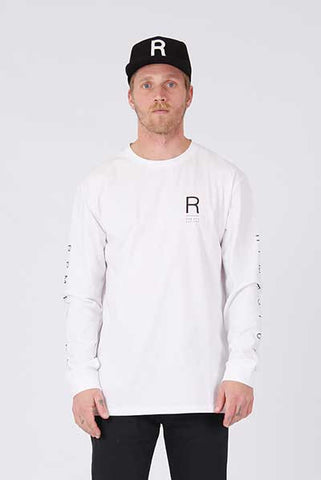 Rpm Authentic L/S - White