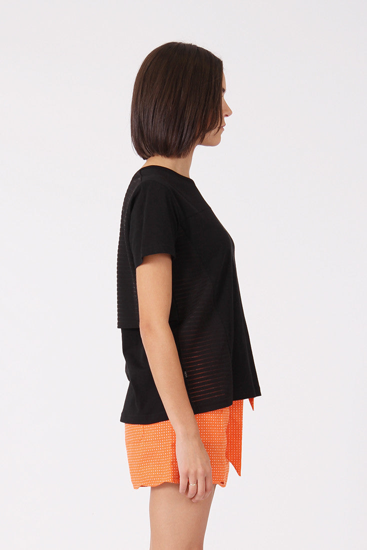 RPM Lily Tee - Black