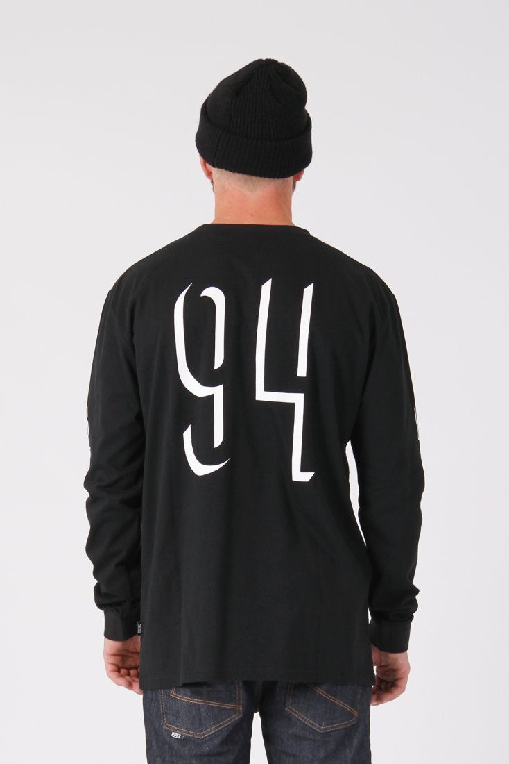 RPM Shaddow L/S Tee - Black